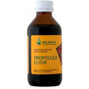 Propolgea Elisir senza alcool per disturbi raffreddamento Arcangea