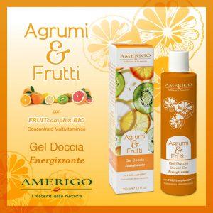 agrumi frutti gel doccia