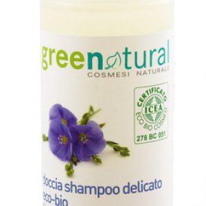 doccia shampoo delicato eco bio lino e proteine del riso ml 100