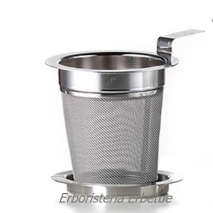 erboristeria erbetue cha cult filtro acciaio t  piattino diametro6cm
