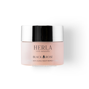 herla black rose crema viso notte antirughe lifting
