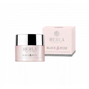 herla-black-rose-maschera-esfoliante-viso-multinutriente-erboristeria-erbetue