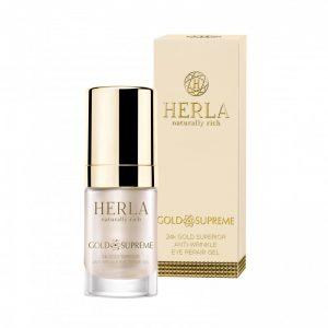 herla-gold-supreme-24k-gel-contorno-occhi-riparatore