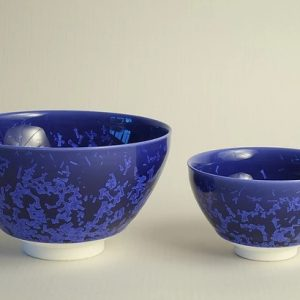 japan design tazza matcha crystaline jd2027 blu cobalto