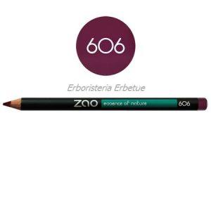 zao 606 matita occhi labbra sopracciglia prugna