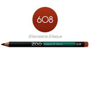 zao 608 matita occhi labbra sopracciglia marrone