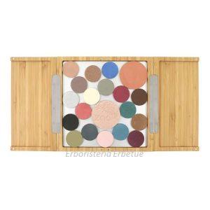 zao makeup box bamb  magnetica grande trousse ombretti fard
