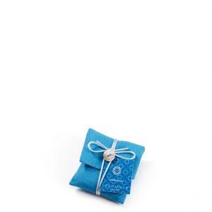CAPRI blu SACCHETTINO profumatore in lino